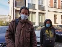 Łaźnia dla bezdomnych w czasach epidemii.