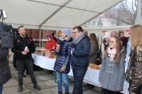 Inauguracja Wigilijnego Dzieła Pomocy Dzieciom.