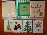 Kartka świąteczna dla pensjonariuszy DPS w Dobrzeniu Wielkim