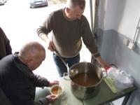 Misja Garażowa Caritas przygotowana do zimy.