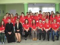 Nowi wolontariusze SKC w Publicznym Gimnazjum nr 8 w Opolu
