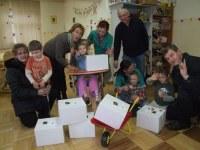 Pół tysiąca paczek dla dzieci z porażeniem mózgowym