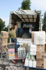 Pomoc opolskiej Caritas dociera do powodzian
