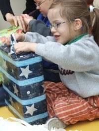 Pomocnik św. Mikołaja dotarł do Centrum Rehabilitacji w Opolu
