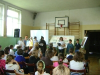 Spotkanie młodych wolontariuszy Caritas w Zębowicach.