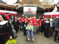 Spotkanie osób niepełnosprawnych w papieżem Franciszkiem