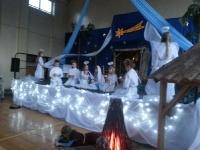 Tradycyjne spotkanie przy Szopce Bożonarodzeniowej