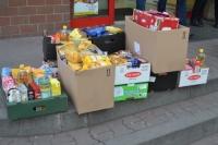 VII świąteczna zbiórka żywności.