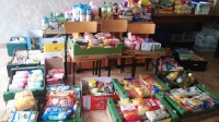 Świąteczna zbiórka żywności _4