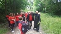 X Diecezjalna Pielgrzymka Szkolnych Kół Caritas Diecezji Opolskiej na Górę Św. Anny.